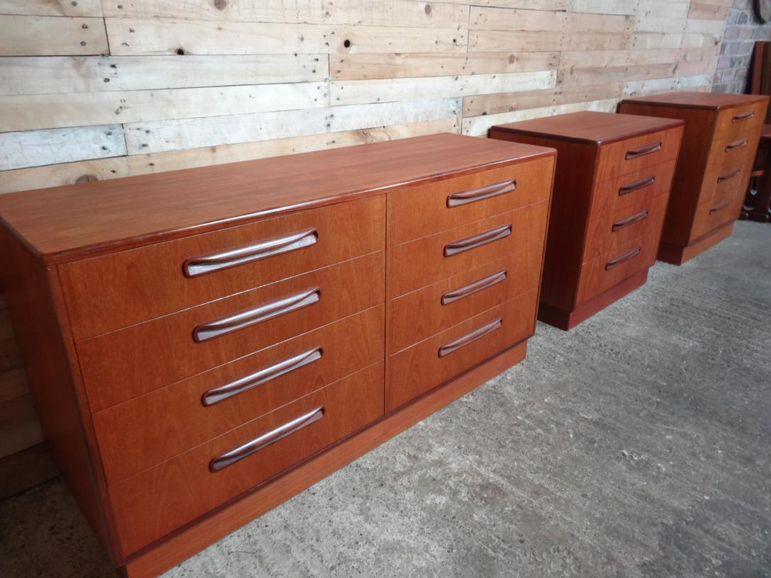 Koford Larsen double chest of drawers
